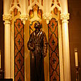 Statue of St. Jude at St. Patrick's Cathedral
