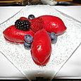 Burns' dessert at MoMA