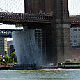 Williamsburg Bridge Waterfall
