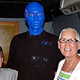 BLUE MAN [who looked like my brother]