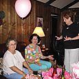 Charlotte, Pat and Sharon