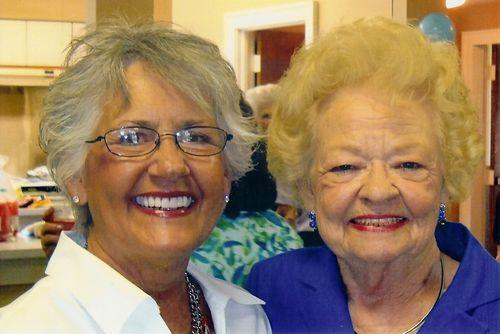 Barbara and Madalene 2010