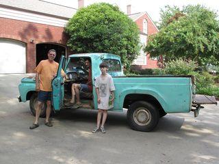 GrandparentsParty & Truck 2010 002