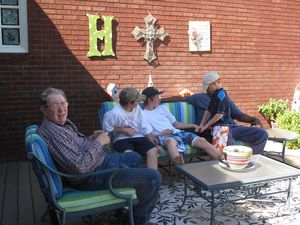 FISH DAY & Patio Furniture 2010 012