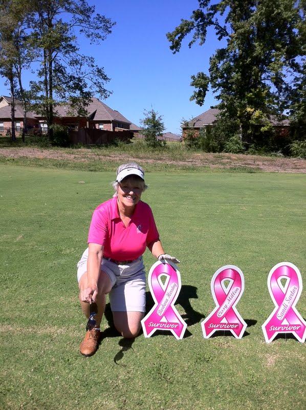 2011 Karen with Survivor sign