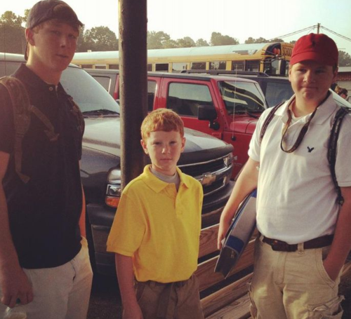 Cowarts 2012 First Day of School