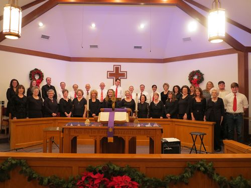 2012 light looked down choir 002