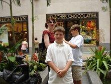 Ben in New York City 2008