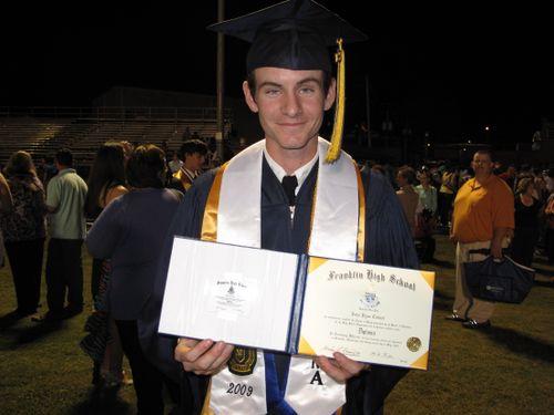 Ryan graduates!!  2009